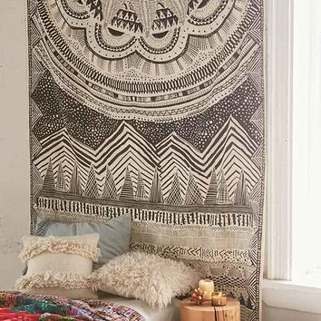 4040 Locust Altai Scratch Markings Tapestry