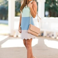 Ready For Anything Dress, Mint