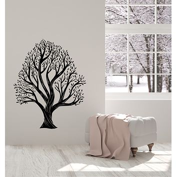 Vinyl Wall Decal Family Tree Forest Nature Leaves Stickers (4033ig)