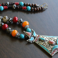Tibetan Nepali Tribal Necklace