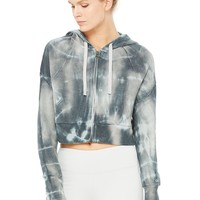 Abree Jacket - Vapor Grey Tie Dye