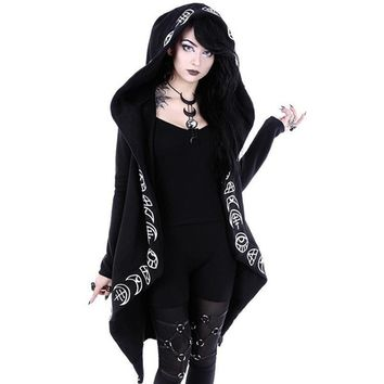 Gothic Casual Cotton Hoodies