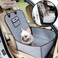 Pet Car Seat Cover Waterproof Puppy Basket Anti-Silp Pet Car Carrier Dog Car Booster Seat Cover Travel Car Seat Pet Protector