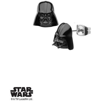 Star Wars Darth Vader Earrings - Black
