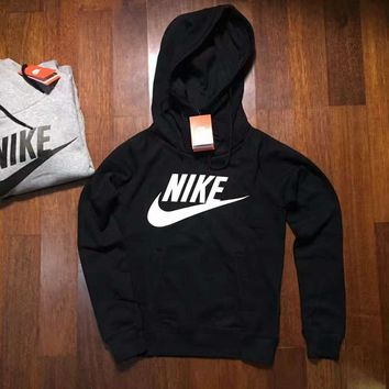 013012a4d937 NIKE HOODIE GIRLS TOP BLOUSE JUMPER BLACK HIGH QUALITY