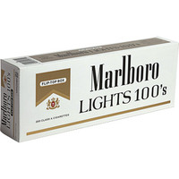 Marlboro Gold Pack 100's box cigarettes [Marlboro Gold Pack 100's box] - $25.00 :