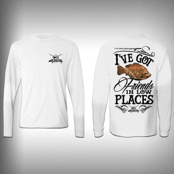 Grouper Low Places - Performance Shirts - Fishing Shirt