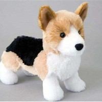 Corgi Plush Stuffed Animal 8 Inch at Animalden.com