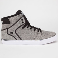 Supra Vaider Mens Shoes Grey/Burgundy/White  In Sizes