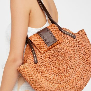 Free People Haven Straw Tote