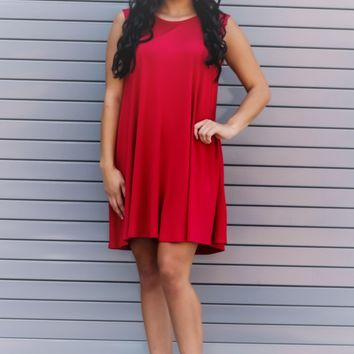 Finding Love Dress: Red