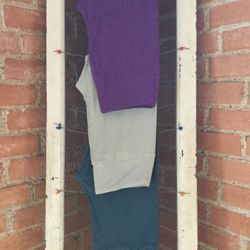 Adult Leggings, One Size Purple solid