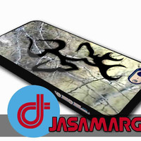 Black Love Browning Deer Camo - Rubber Case, Plastic Case for iPhone 4/4s, 5/5s, 5c and Samsung S3, S4