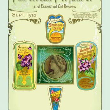 American Perfumer and Essential Oil Review, September 1910 20x30 poster