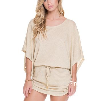 Luli Fama Gold Rush South Beach Cover Up
