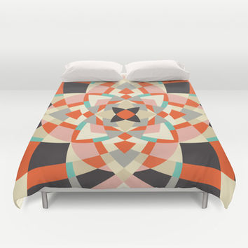 Southwest Quilt #1 Duvet Cover by Little Things Studio