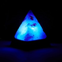 Pyramid Salt Rock Desk Lamp - Urban Outfitters