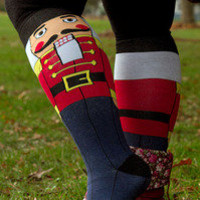 Socks By Sock Dreams  » Socks » Sock It To Me Nutcracker Knee Highs