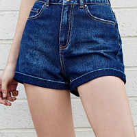Bullhead Denim Co. Rain Cloud Denim Mom Shorts at PacSun.com