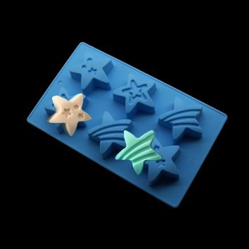 Cake Decoration Silicone Mold, Kitchen Baking Soft Candy Pastry Yid Baking Pan Tool, Handmade Soap Making Molding  Stencil