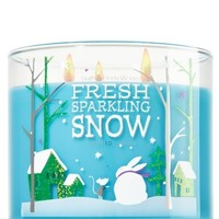 3-Wick Candle Fresh Sparkling Snow