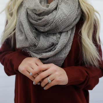 Nicest Thing Scarf - Taupe