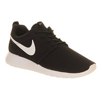 Nike Roshe Run Black White Volt W - Unisex Sports