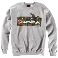 Diamond Supply Co Hunters Crew Neck - Men's at CCS