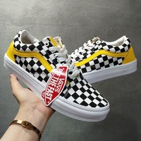 Vans Grid Old Skoo Checkerboard Old Skool Sneaker