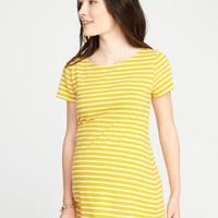 Maternity Relaxed Boat-Neck Top |old-navy