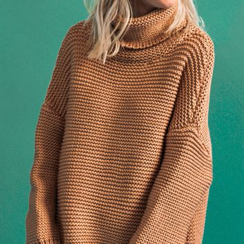 Goddess Sweater (Camel)