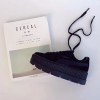 Puma Cleated Creeper Suede outdoor mountaineering shoes