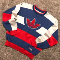 Adidas Fashion Casual Long Sleeve Sport Top Sweater Pullover Sweatshirt