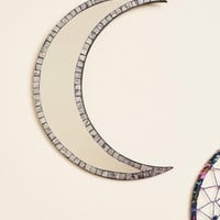 Crescent Moon Mosaic Mirror