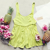 Pineapple Flower Romper