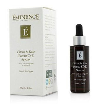 Citrus & Kale Potent C+E Serum - For All Skin Types - 30ml-1oz