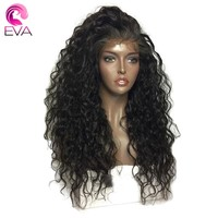 250% Density 360 Lace Frontal Wigs Pre Plucked With Baby Hair Eva Hair Water Wave Brazilian Remy Human Hair Wigs For Black Women