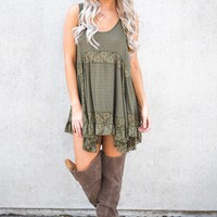 Randy Lace Top (Olive)