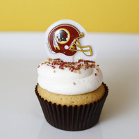 Washington Redskins Cupcake Kit by FreshlyBakedDC on Etsy