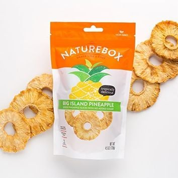 NatureBox Non-GMO Dried Fruit Sampler (5 bags) - Mango, Pineapple, Cherry, Cranberry, and Blueberry -...