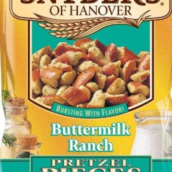12oz Snyder's of Hanover Buttermilk Ranch Pretzel Pieces, Pack of 2
