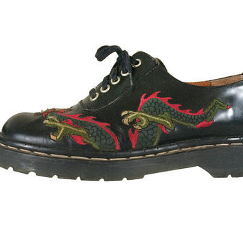 Dragon Shoe Tred Air Dr Martens Oxford Doc Martens 90s Dr Martens Dr Martins Doc Martins Dr Martens Men Dr Martens Women Men Casual Shoe