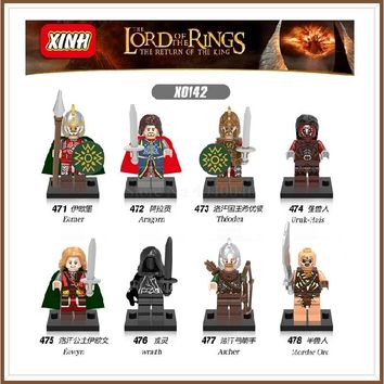 Single Legoing Lord Of The Rings The Hobbit DIY Tauriel Aragorn II Models & Building Blocks Collection Toys For Children Bloques