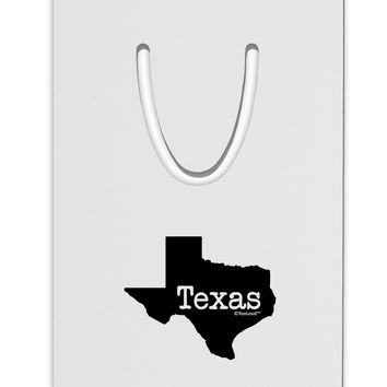 Texas - United States Shape Aluminum Paper Clip Bookmark by TooLoud