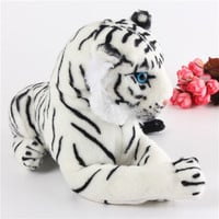 Hot selling cute plush tiger toys lovely stuffed doll Animal pillow Children Kids birthday gift 40cm