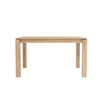 Ethnicraft Oak Slice Extendable Dining Table