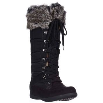 Zigi Soho Madalyn Winter Snow Boots, Black, 5 US