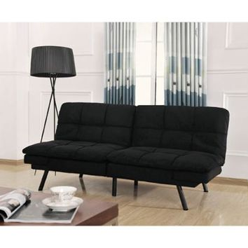 Memory Foam Futon, Multiple Colors - Walmart.com
