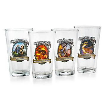 Blizzard HearthStone Pint Glass - Set of 4