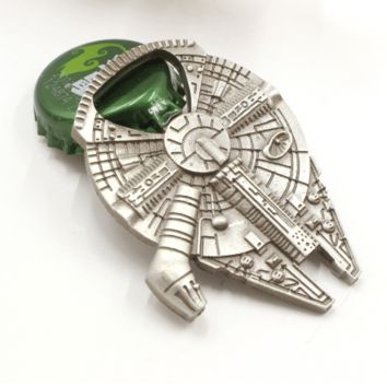 Star Wars Millennium Falcon Stainless Steel Heavy Duty Bottle Opener